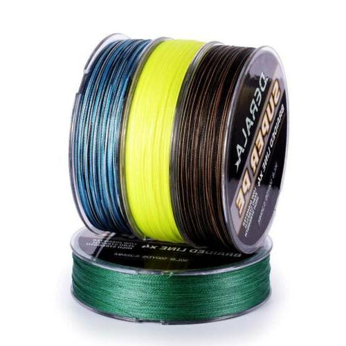 DERALA Braid Fishing 10-60lb 4 Strands