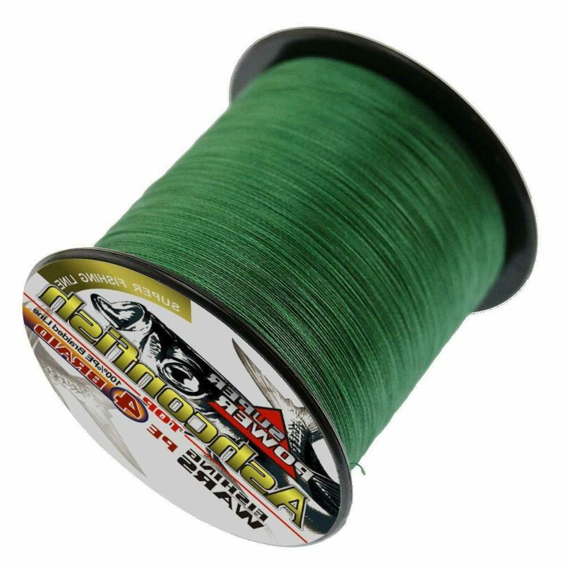 Ashconfish Strands Super Strong Pe Fishing Multifila