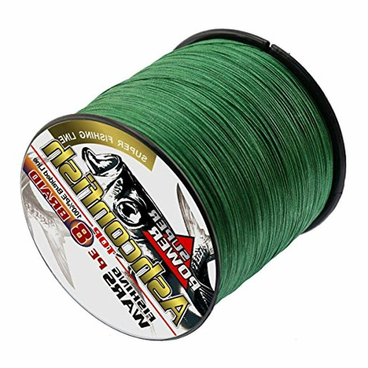 Ashconfish Braided Strands Super Strong Fishing Wire