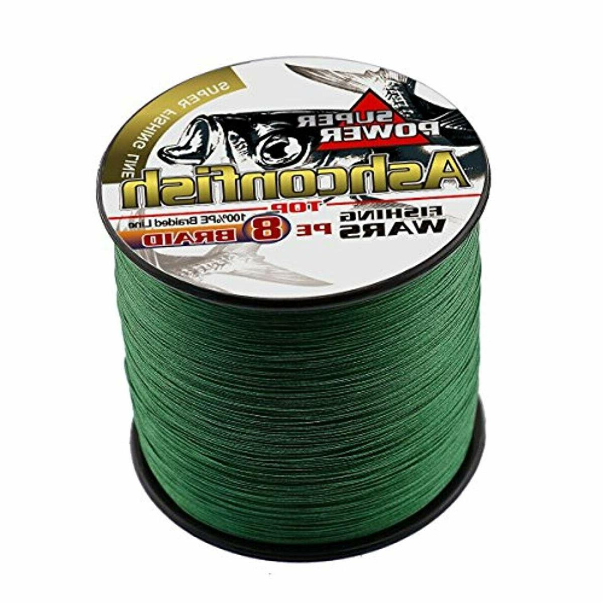 braided fishing line 8 strands super strong