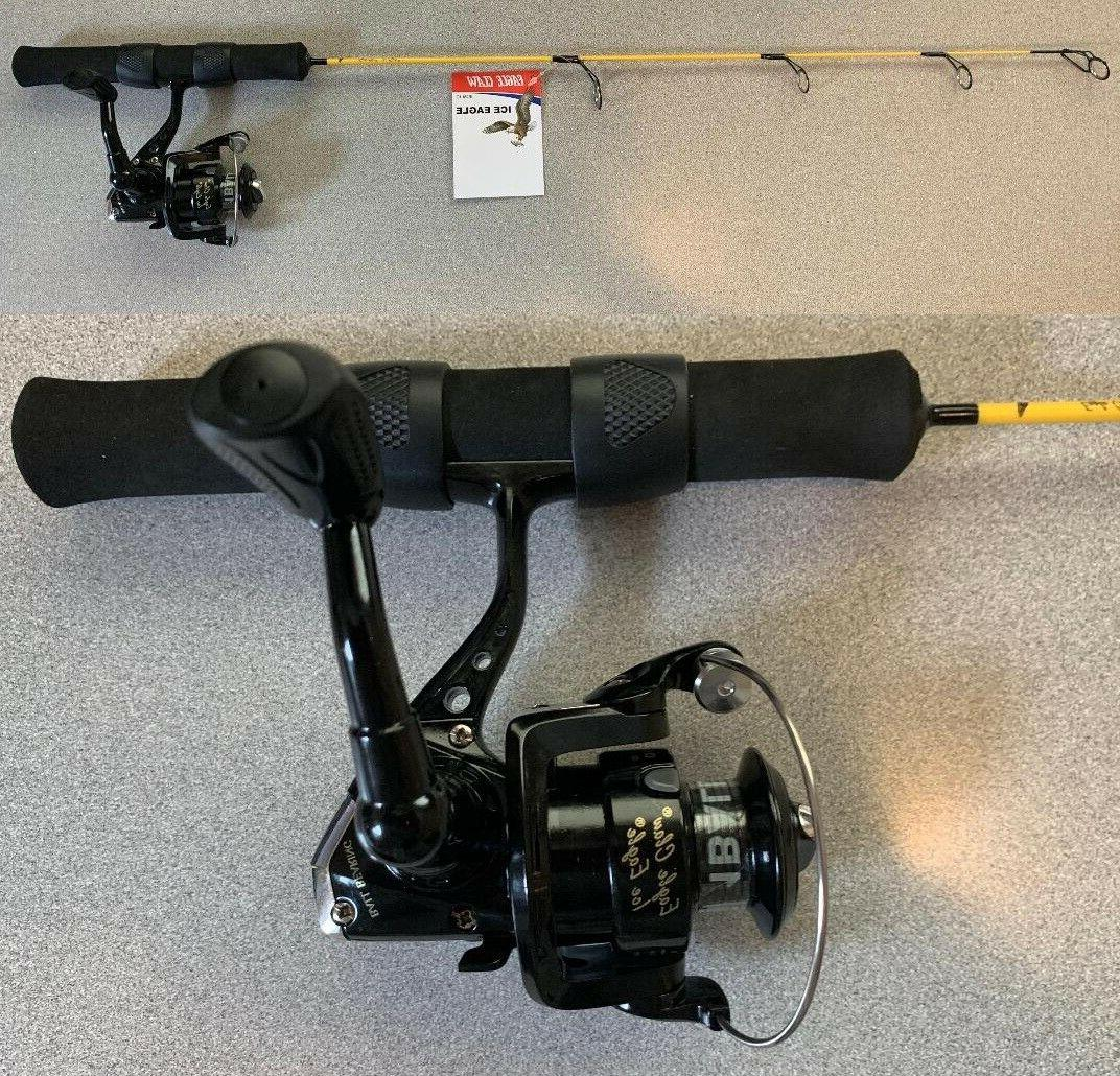 EAGLE CLAW ICE EAGLE Reel Combo FREE SHIP!