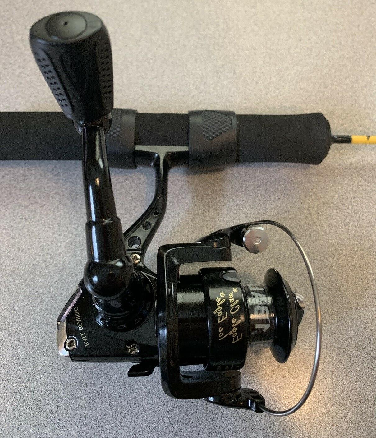 "EAGLE CLAW COLD ICE EAGLE Fishing Rod Reel 28"" FREE"