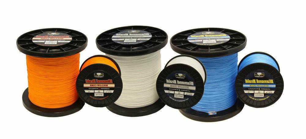 Momoi Diamond Braid Generation III Hollow Core Line 600 Yard