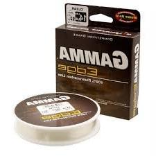 Gamma Edge 100% Fluorocarbon Fishing Line Clear 12lb 100yds