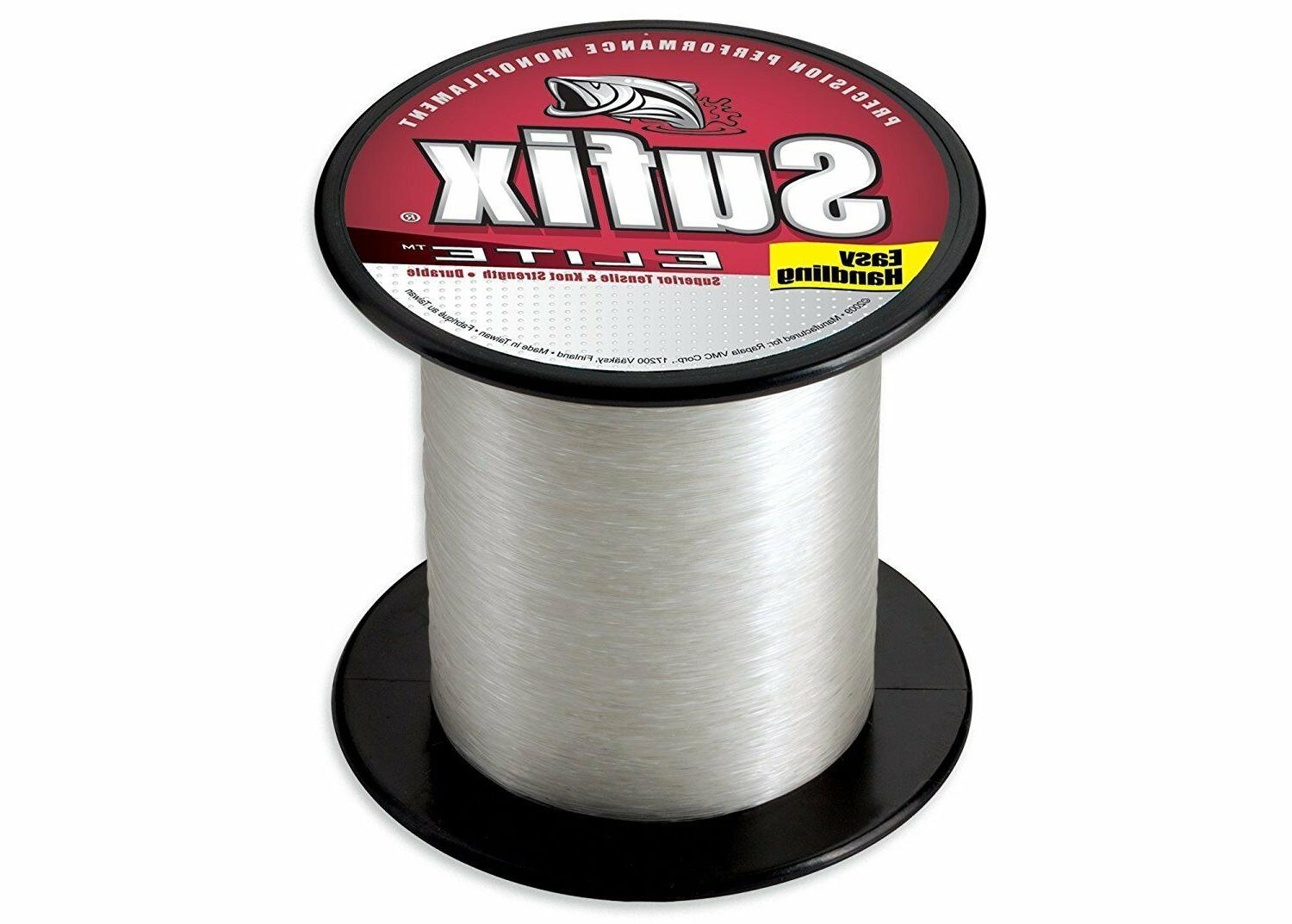 Sufix Elite Monofilament Fishing Line-3000 Yards-Pick Color/