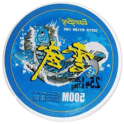 Color 500 Fluorocarbon Fishing Wire Monofilament