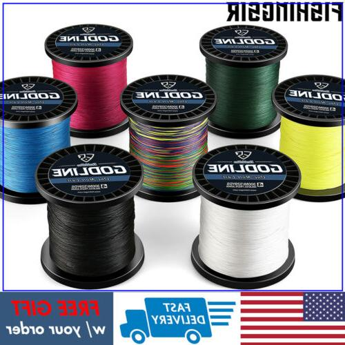 FISHINGSIR GODLINE Braided Fishing Line Seawater Superline 3