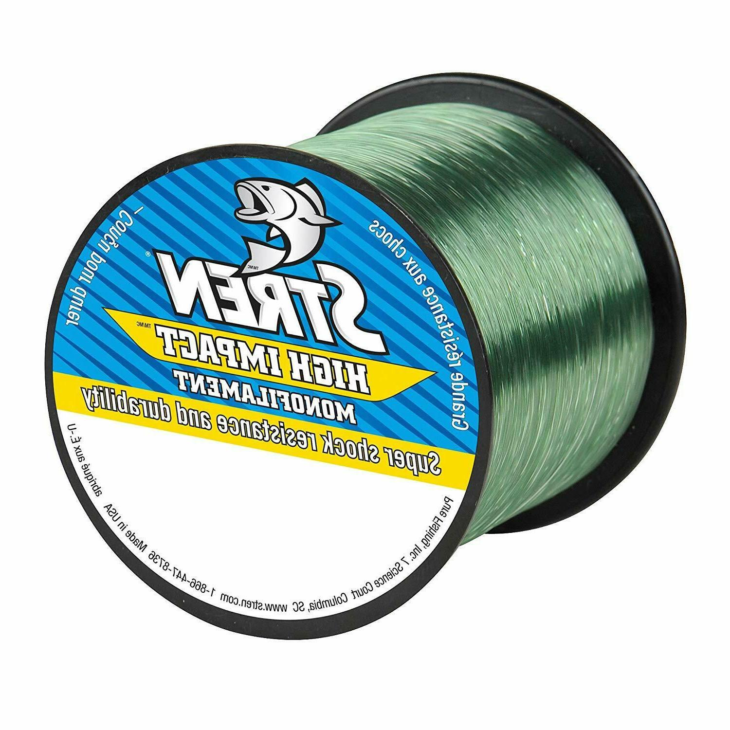 high impact monofilament fishing line shock resistant