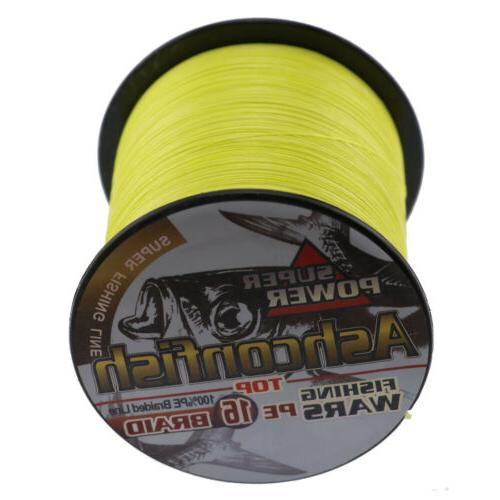 hollow core 16 braid fishing line 20lb