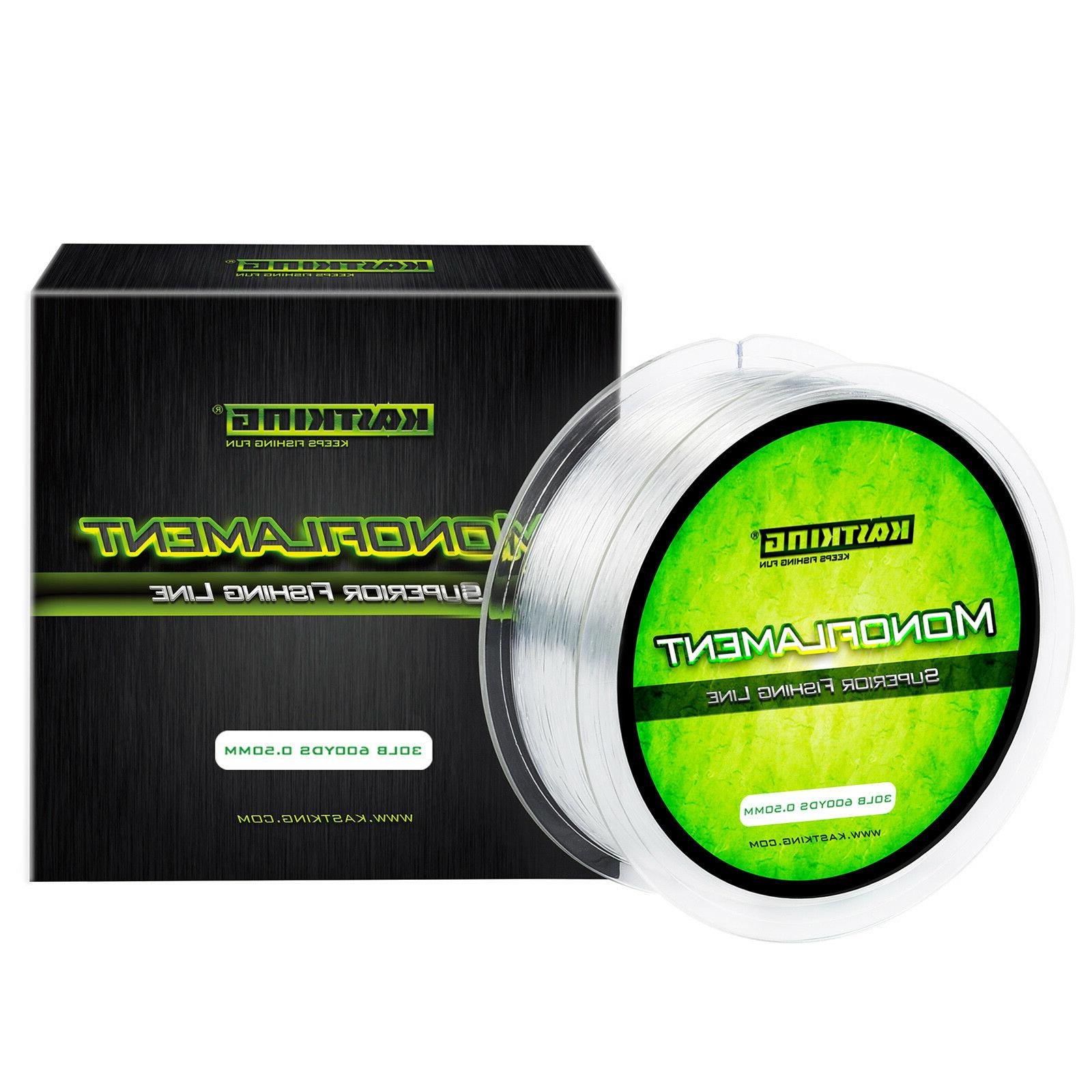 monofilament fishing line 300 yds 600 yds