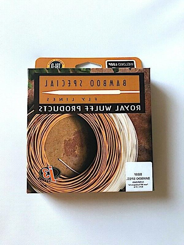 New, Bamboo Special Triangular Fly Line, Royal