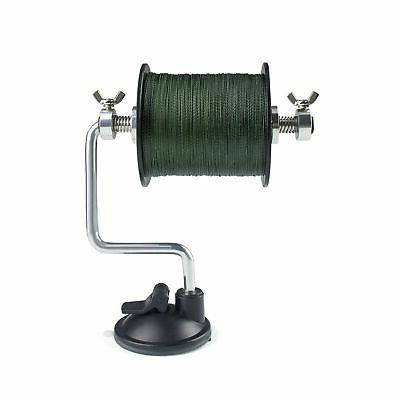 new line spooler adjustable for varying spool