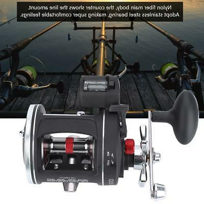offshore angling aluminum alloy drum wheel fishing