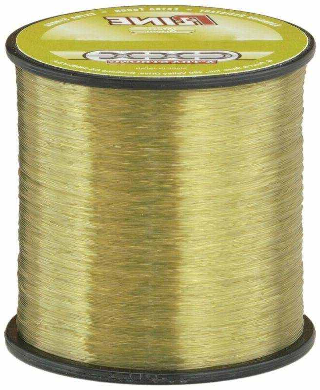P-Line Cxx-Xtra Strong 1/4 Size Fishing Spool, Moss Green