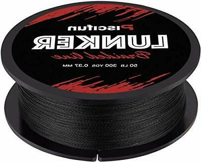 Piscifun Lunker Braided Fishing Line 300yards - Improved