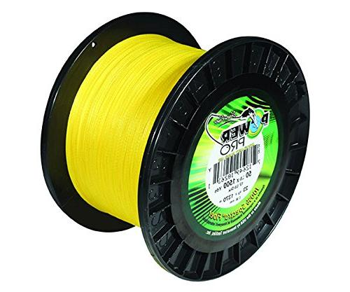 Power Pro 10 yd, Yellow