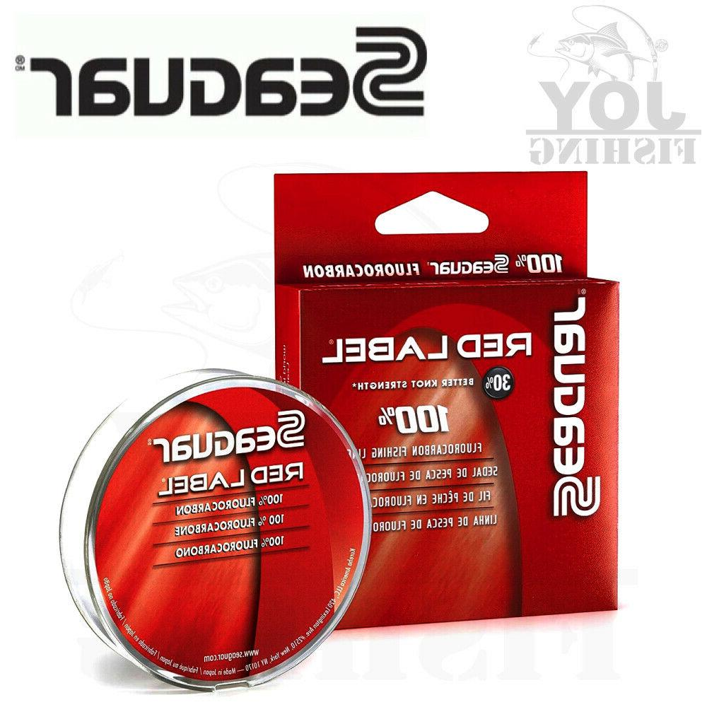 red label fluorocarbon leader clear fishing line