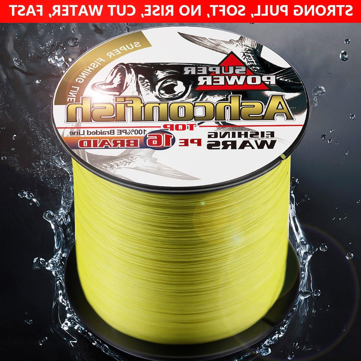 Super hollowcore <font><b>fishing</b></font> strong cord braided wires