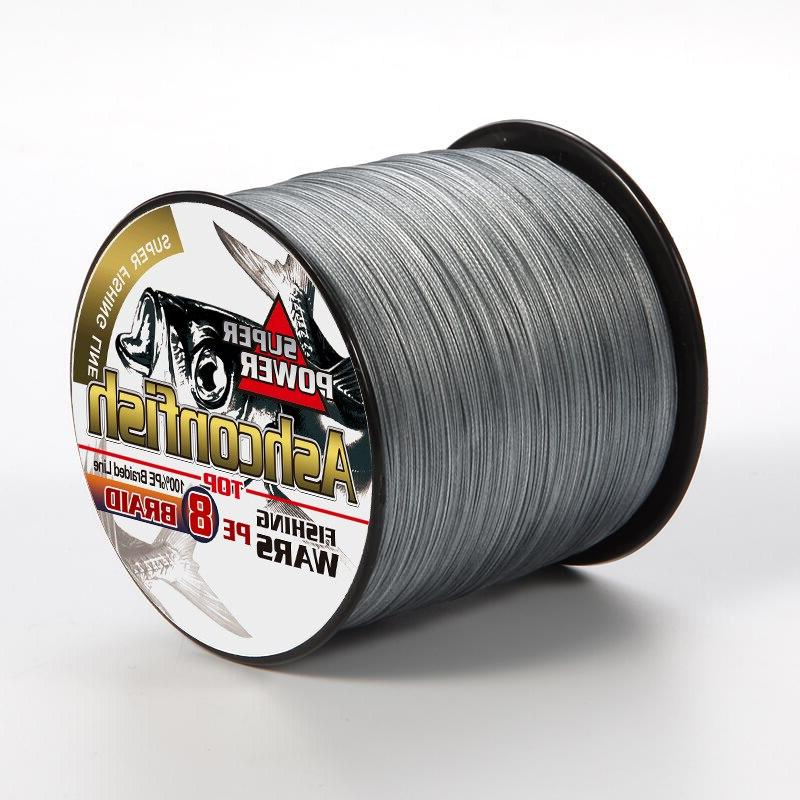 braided wire smooth 8-300LBS toughness thread