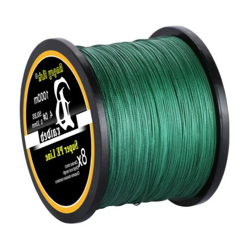 Super Strong Spectra Braided Line 4/8 Strands 300/500/1000M 12-100LB