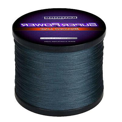 superpower braided fishing line 330 yds 1094yds