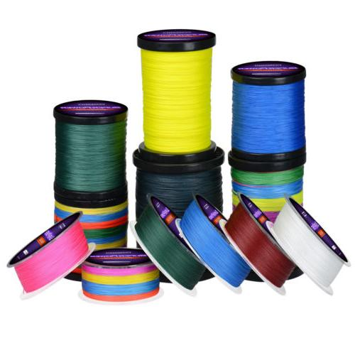 KastKing 137-1000M Various Color Dyneema Braid Line