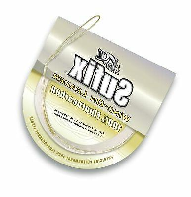 wind on fluorocarbon leader fishing line 33
