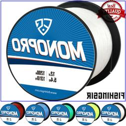 monopro monofilament fishing line premium nylon leader