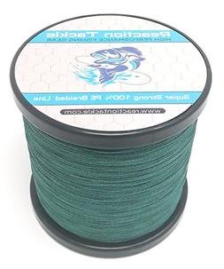 Reaction Tackle Moss Green 80LB 1000yd