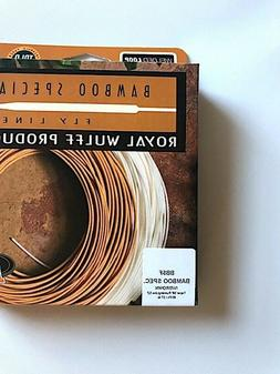 New, Bamboo Special BB5F Triangular Taper Fly Line, Royal Wu