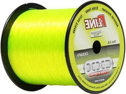 P-Line CXX Fluorescent Green X-Tra Strong Co-Polymer Fishing