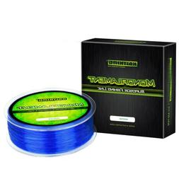 premium monofilament fishing line 600yds 20lbs blue