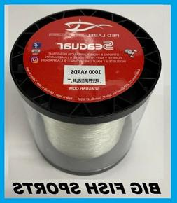 SEAGUAR RED LABEL 100% FLUOROCARBON Fishing Line 1000 YARDS
