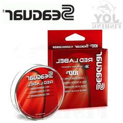 Seaguar Red Label Fluorocarbon Leader Clear Fishing Line 200