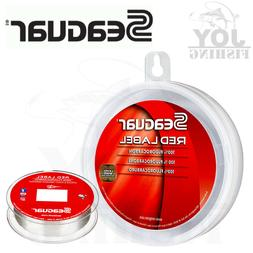 Seaguar Red Label Fluorocarbon Leader Clear Fishing Line 25