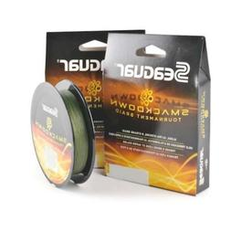 Seaguar  Smackdown Braided Fishing Line, Green, 30-Pound/150