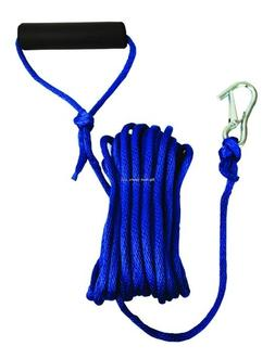 Attwood Solid Braided Launch Line with Hook and Foam Grip