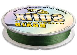 Sufix Performance 100-Yards Spool Size Braid Line