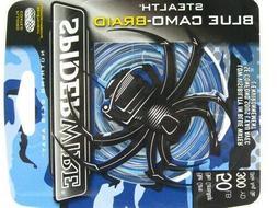 Spiderwire Stealth Blue Camo Braid 300yds 50lb