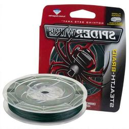 Spiderwire Stealth Fishing Line, Moss Green, 200 yd/10 lb