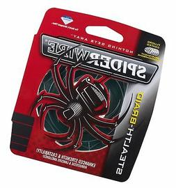Spiderwire SCS15G-125 Braided Stealth Superline, Moss Green,