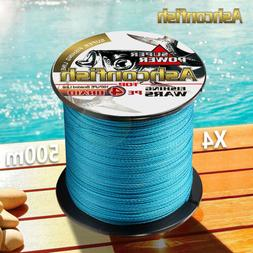 Strong 500M  PE Multifilament Braided Fishing Line 4 Strands