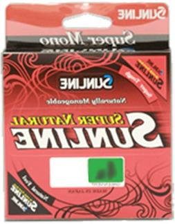 Sunline SUPER NATURAL Monofilament Fishing Line 12lb.330yd.