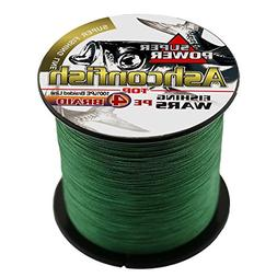 Ashconfish Super Strong Braided Fishing Line - 4 Strands Fis
