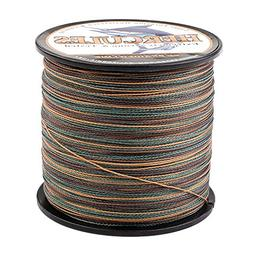 HERCULES Super Strong 300M 328 Yards Braided Fishing Line 60