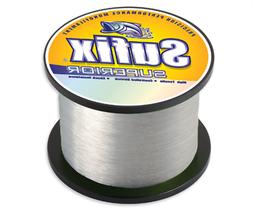 Sufix Superior 1/4lb Spool Clear 15lb/841yds