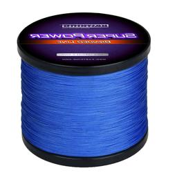 KastKing SuperPower Braid Fishing Line - Blue - Select LB Te