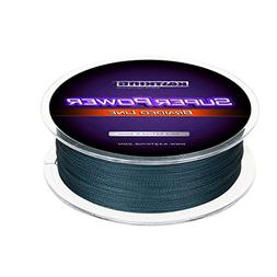 KastKing SuperPower Low-Vis Gray Braided Fishing Line 1000M-