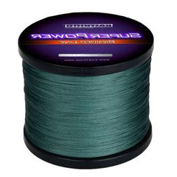KastKing SuperPower Braided Line 1097 Yards 25LB Line Green