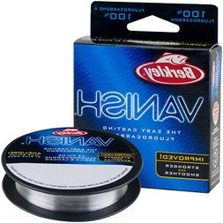 Berkley Vanish Fluorocarbon Fishing Line  - Clear